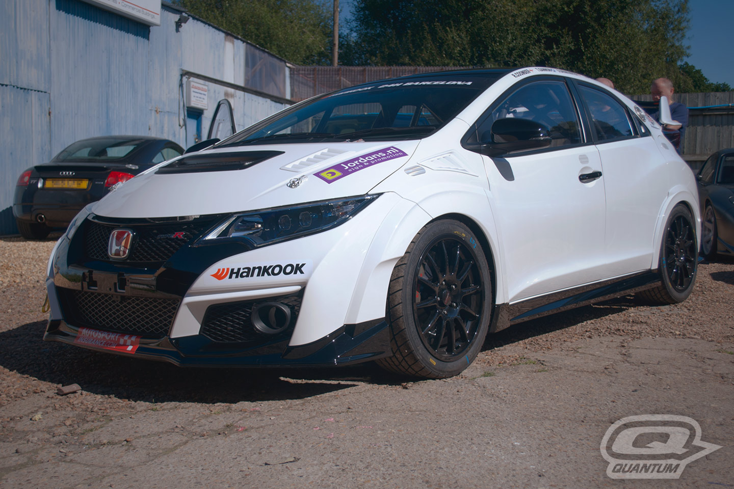 Honda Civic Type R Fk2 Quantum Racing Suspension